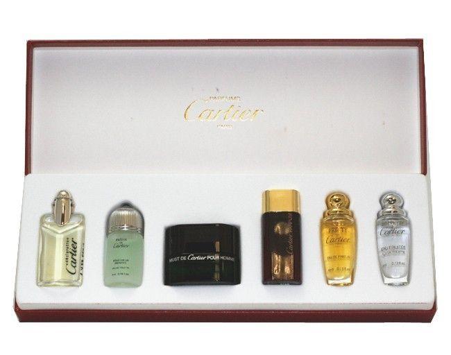 9cfbd3bad41 Cartier Miniature Perfume Set (Paris Collection Mini Bottle Gift Set ...