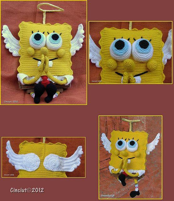 Holy Spongebob | Esponja, Ganchillo y Bob esponja
