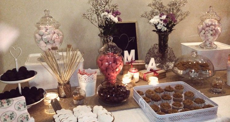 Mesa dulce boda sencilla 3 diy weddings crafts for Decoraciones para bodas sencillas