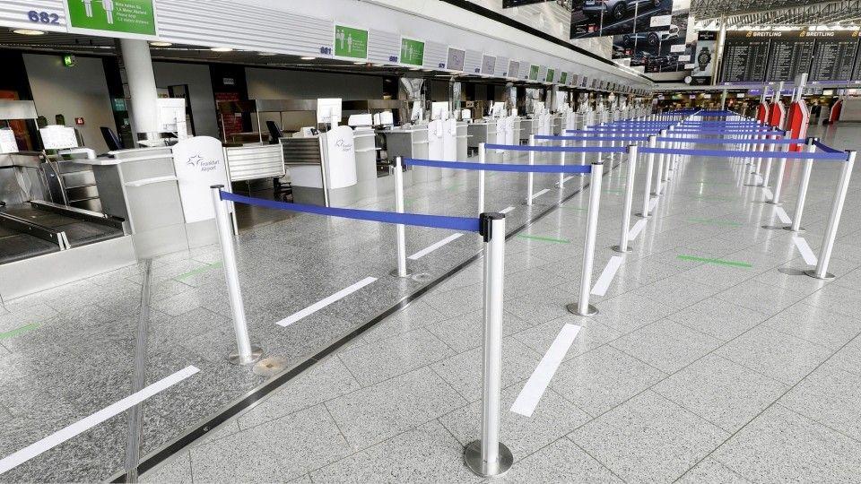 Frankfurt Flughafen Schließfächer