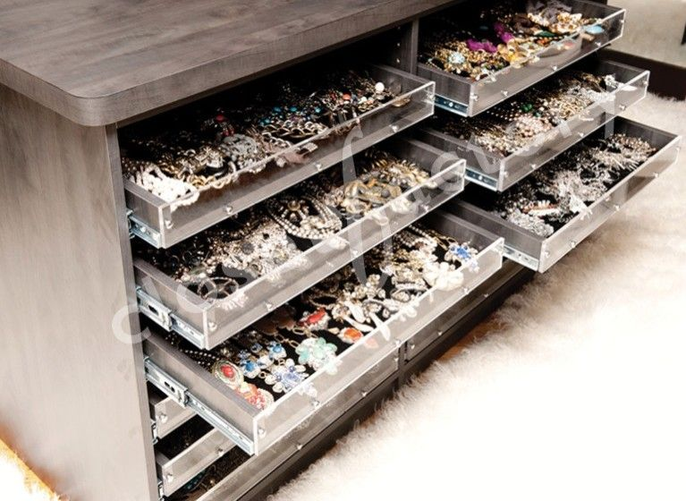 Cool Jewelry Organizer method New York Contemporary Closet Image