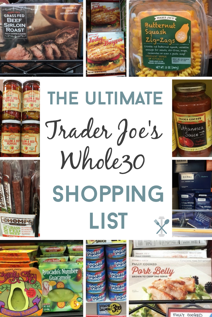 48b812c23e798 EVERYTHING you need - The ultimate Trader Joe s Whole30 shopping list has  all the compliant packaged foods you will want for the Whole30 challenge!