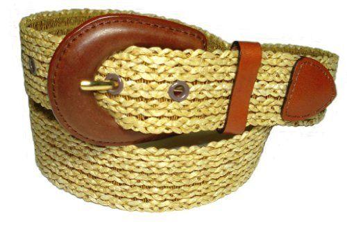 41ded8842d57 BeltsandStuds Women Fashion Designer Straw Woven Dress Belt  Fashion  Design   Belt