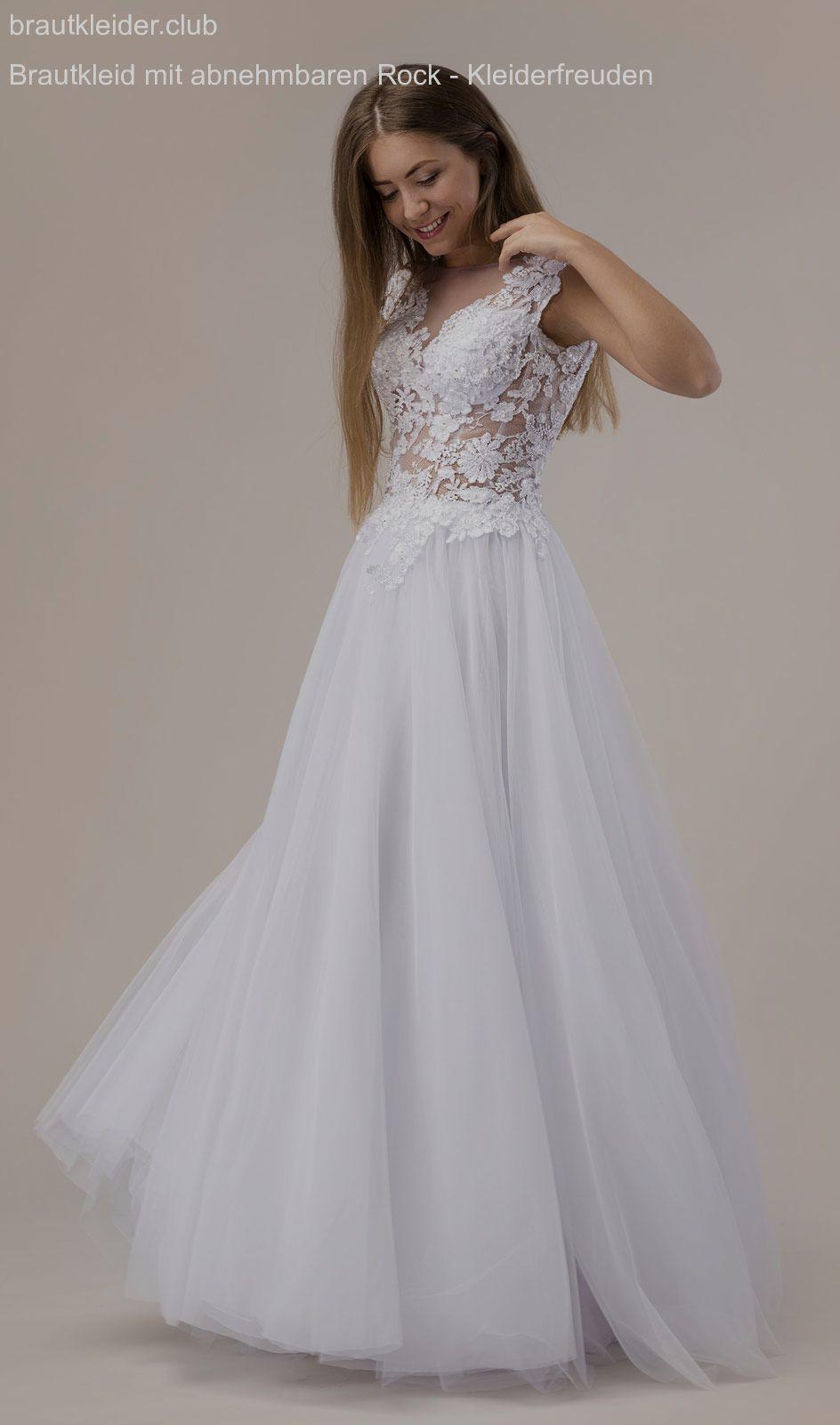 Brautkleid mit abnehmbaren Rock - Kleiderfreuden  Wedding dresses