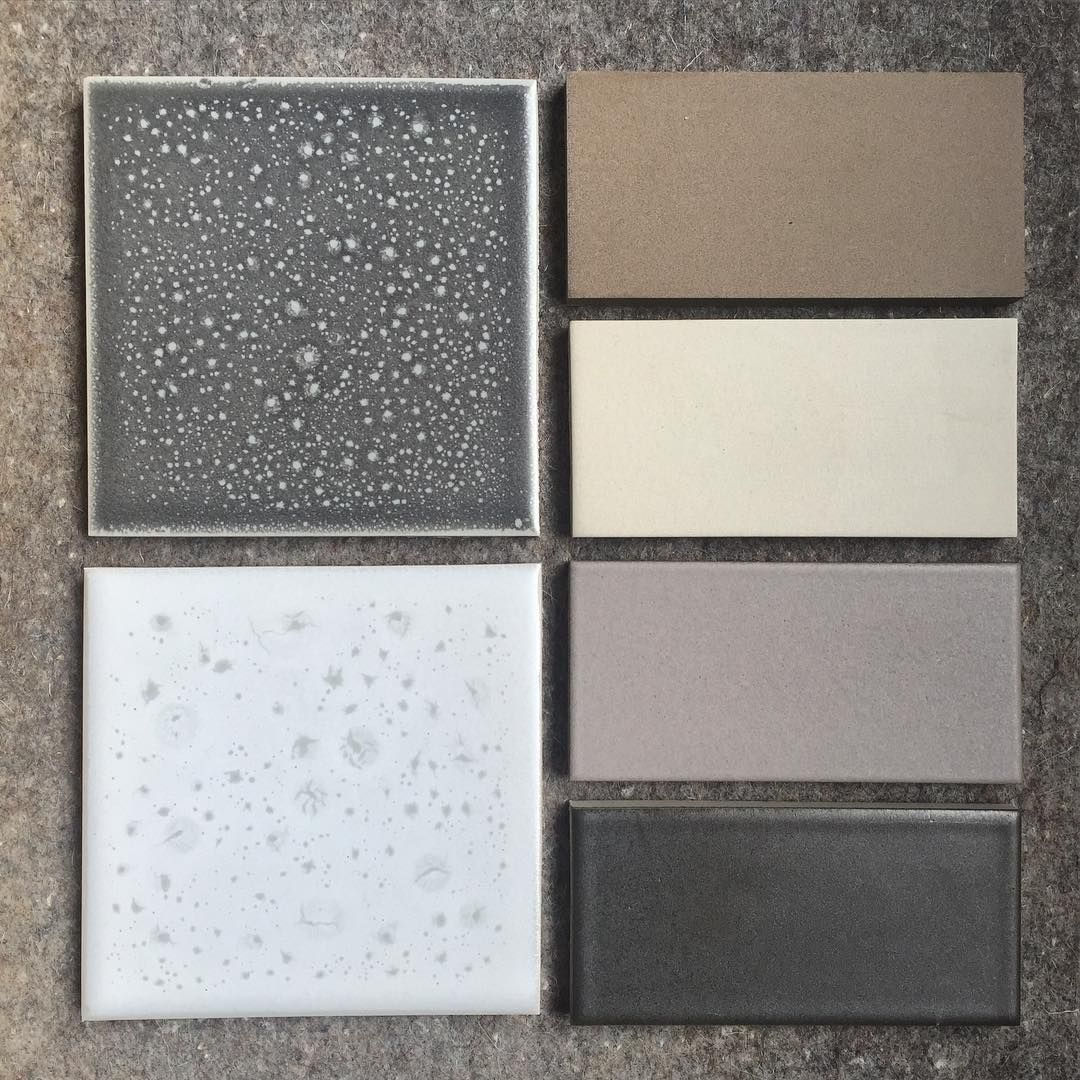 New tile palette with some natural clay tiles and layered glaze heath ceramics heath ceramics tileheath tileglazed dailygadgetfo Images