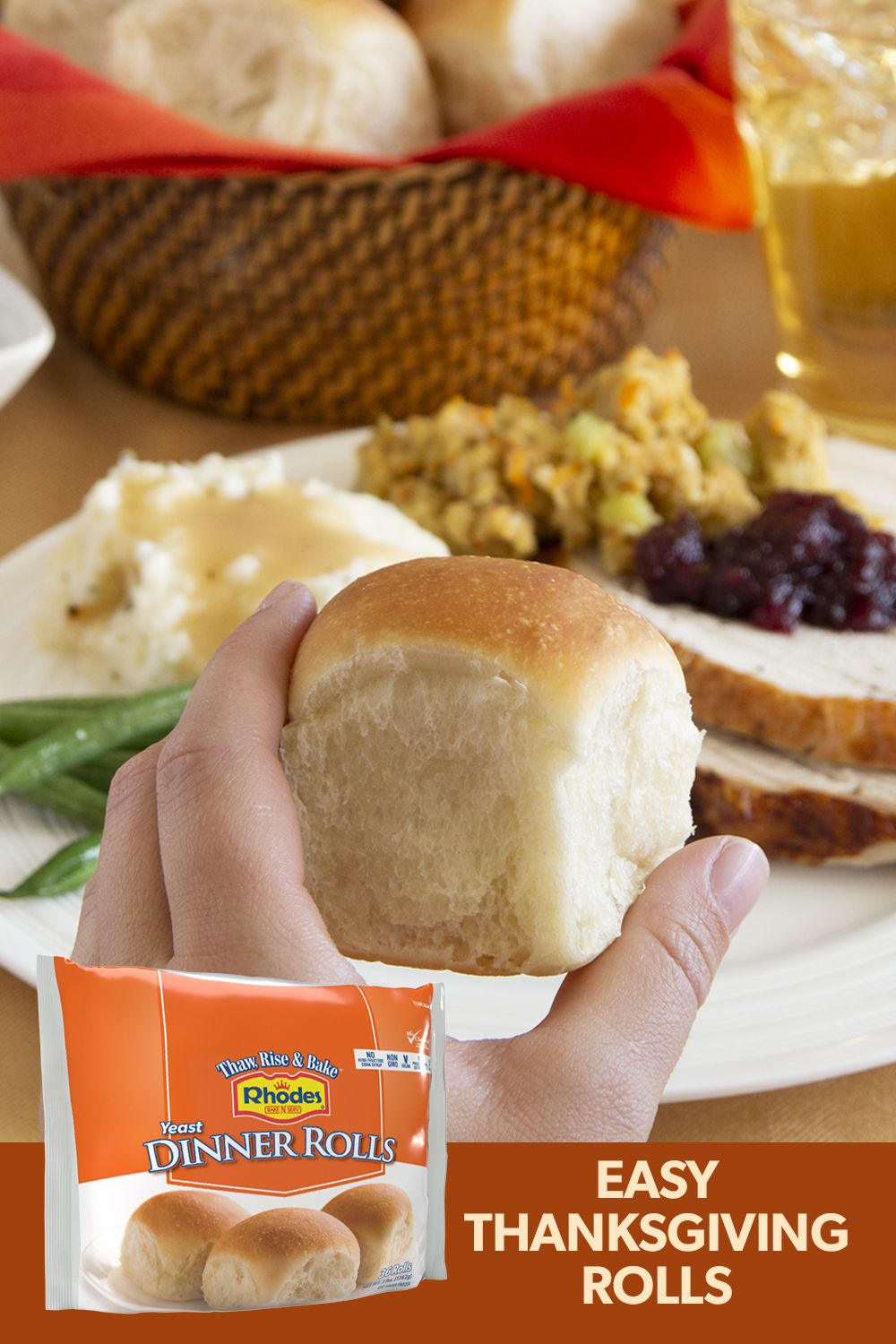 Soft And Delicious Rhodes Bake N Serv Dinner Rolls Are A Great