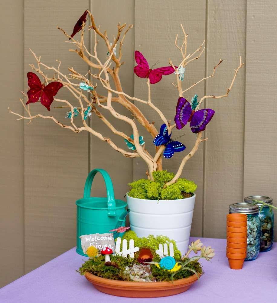 Fairy Garden Birthday Party Ideas In 2018 Party Ideas Pinterest