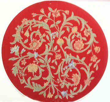 Miniature Carpet Round - woven