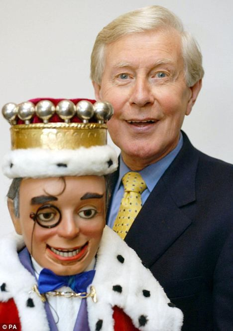 Ray Alan with his famous doll Lord Charles - I remember this but I didn't like that puppet!