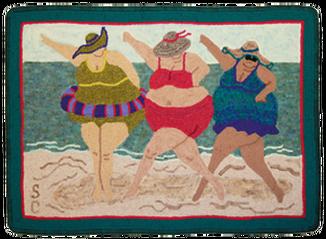 Beach Ballet By Sue Cunningham Of Encompassing Designs