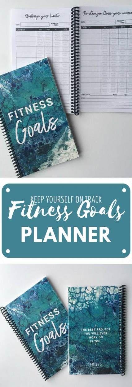 Fitness Journal Goals Workout 27+ New Ideas #fitness