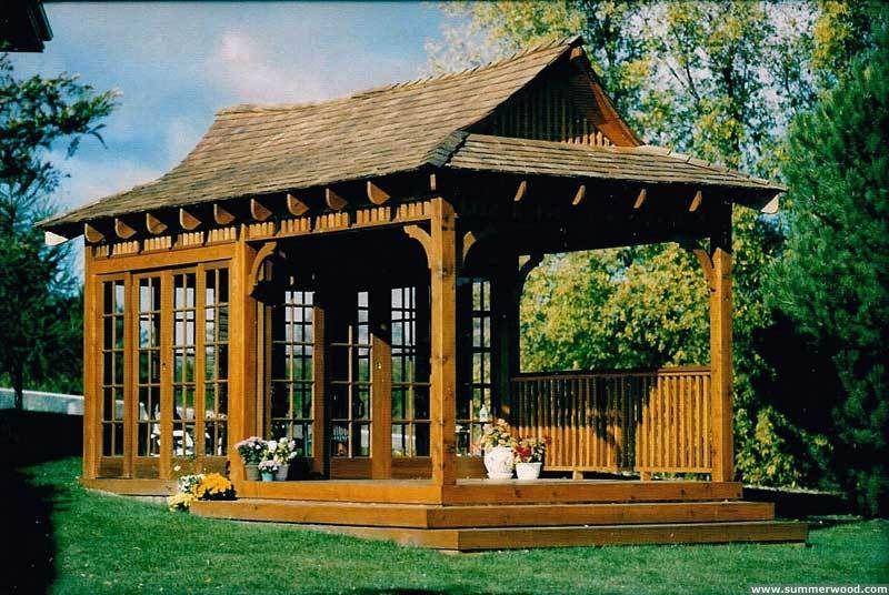 Looking For Interesting Backyard Spaces Gazebo Gazebo Plans