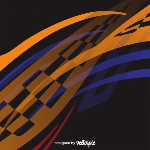 Racing Stripe Strike Abstract Background Free Vector Gambar Gambar Tokoh Desain Grafis
