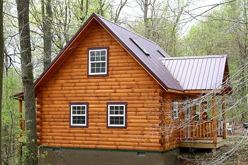 Luxury Hocking Hills Ohio Cabin Rental | Lovers Loft Cabin | Ash Ridge Cabins