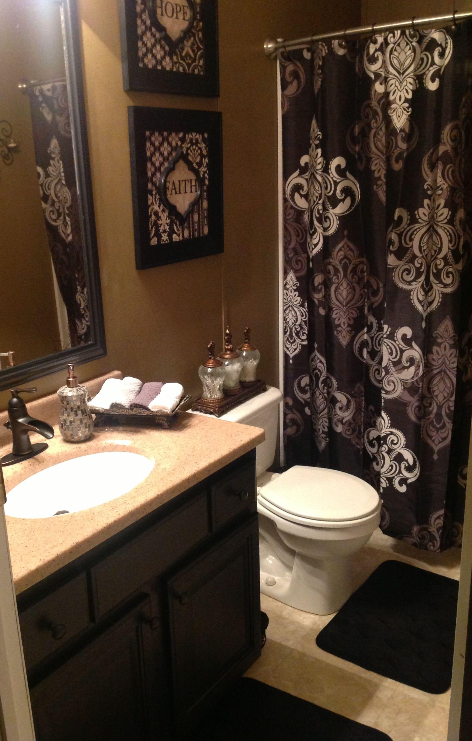 Finished guest bathroom   Restroom decor, Small bathroom ...