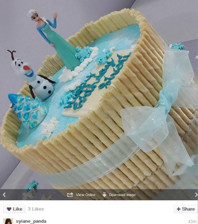 Recette gateau anniversaire la reine des neiges