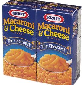 Heavy Whipping Cream and Kraft Macaroni & Cheese