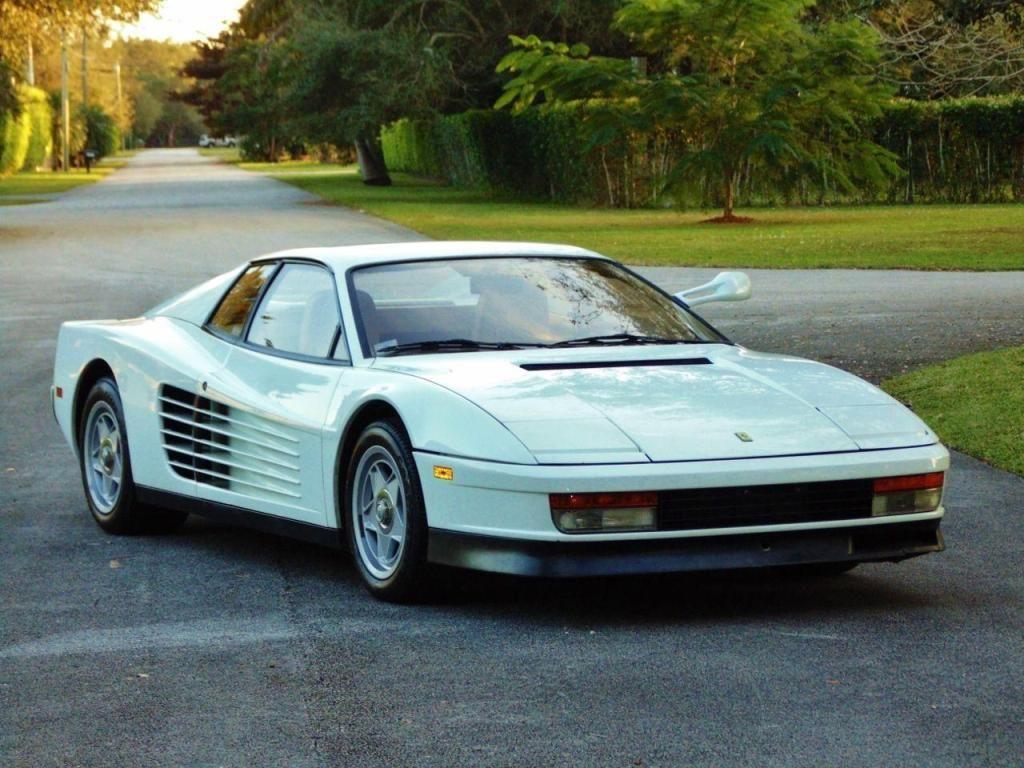 Ferrari #Testarossa de Miami Vice sale a subasta a 1.75 MMD ...