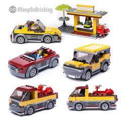 LEGO City Bus Or Coach Stop Train Station Idea 60197 60198