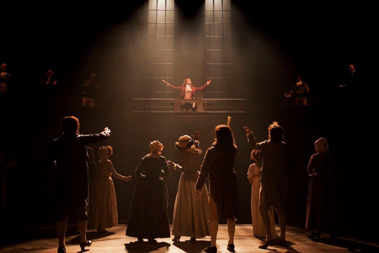Danton's Death, National Theatre, 2010. Dir: Michael Grandage, Set: Christopher Oram, LD: Paule Constable. Photo: Johan Persson
