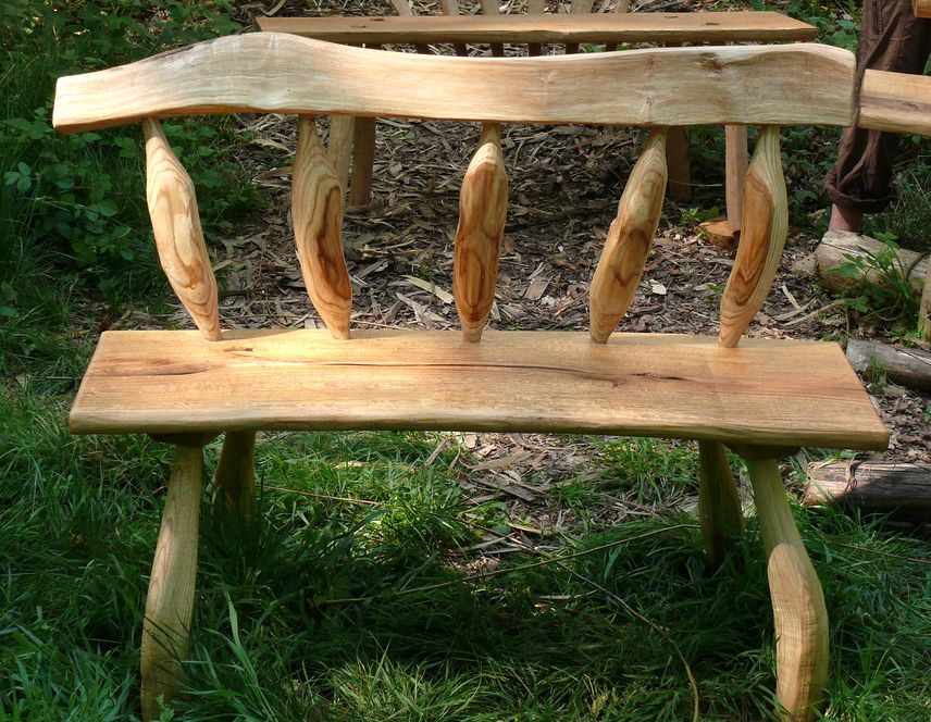 pinterest benches. Greenwood bench  green woodworking Pinterest Green