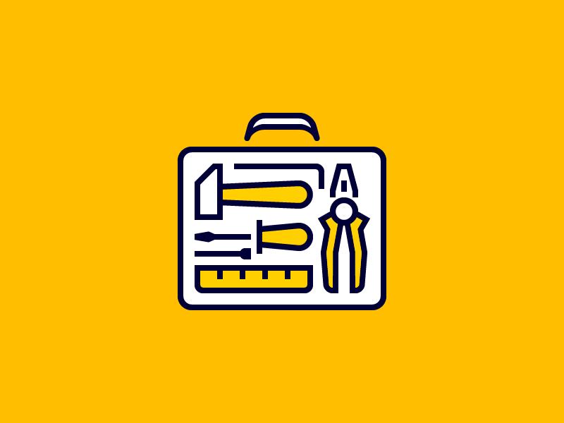 Toolbox Icon Tool Box Handyman Logo Icon