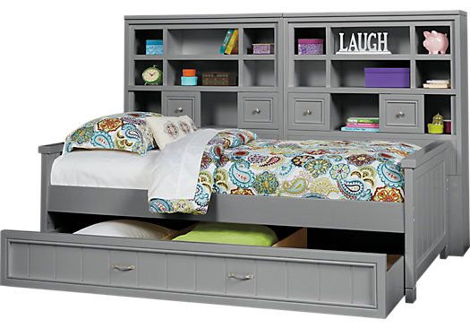 For A Cottage Colors Gray 5 Pc Twin Bookcase Wall Bed At Rooms To Go Kids Find That Will Look Great In Your Home And Complement The Rest Of