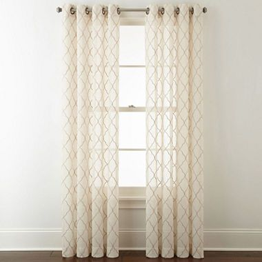 Explore Sheer Curtain Panels Curtainore Jcpenney Home