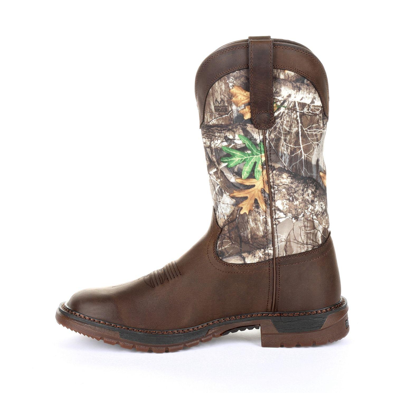 0db746289ab Rocky Original Ride FLX Men's Waterproof Steel Toe Western Work ...