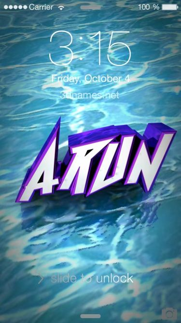 preview of water for name arun all wallpapers pinterest