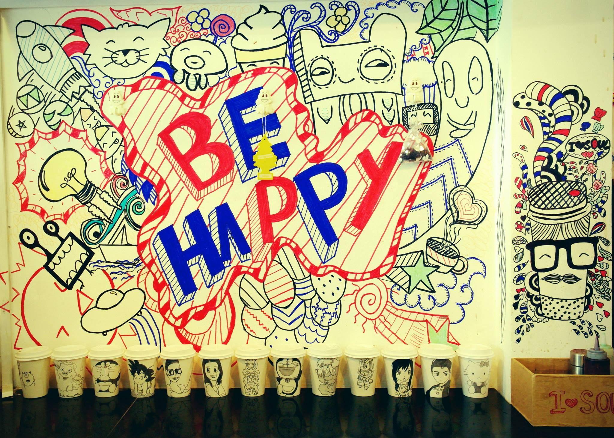 Exelent Wall Doodle Art Embellishment - Art & Wall Decor - hecatalog ...