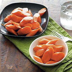 Honey-Orange Carrots | MyRecipes.com #myplate #vegetables