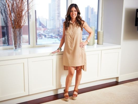 This Emilie Andrew Nanci Shirtdress is an easy way to do casual chic.  This stylish nude shade is super versatile, and I love the shape! Pair it with a day clutch and a cuff and you're good to go!