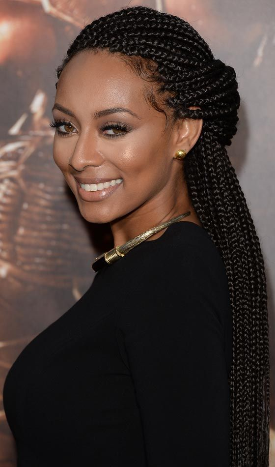 20 Beautiful Braided Updos For Black Women Braids Pinterest