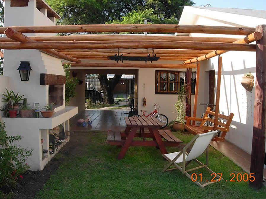 Clic para ampliar jardin pinterest pergolas de - Terrazas de madera rusticas ...