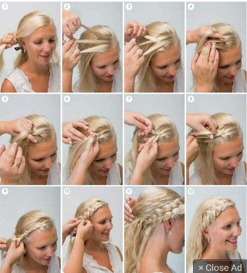 fletteteknikker hår
