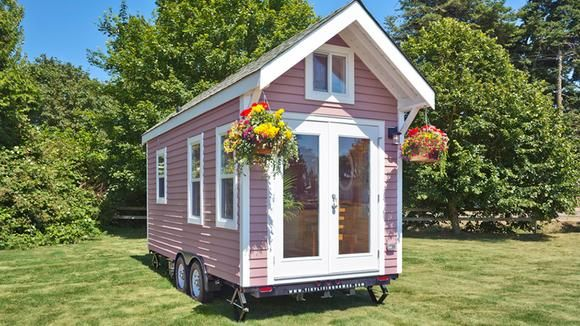 Tiny House Klein aber fein einrichten, so geht's! Rosa