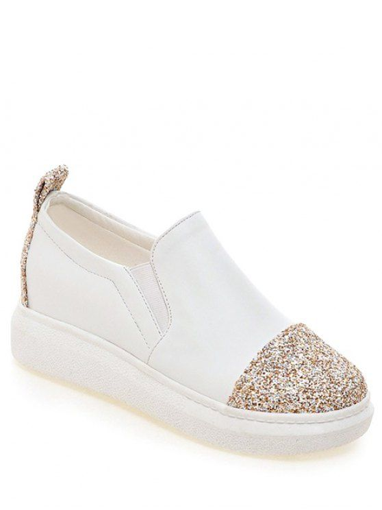 The Avenue Sequined Espadrille Slip-Ons Thzzx2t