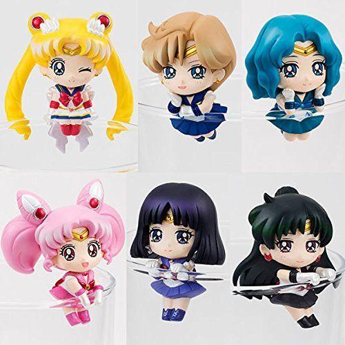 Megahouse Ochatomo Sailor Moon Cosmic Heart Cafe Sailor Saturn Hotaru Figure NEW