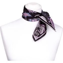 Photo of Fraas scarf neckerchief black paisley a silk 53×53 cm FraasFraas
