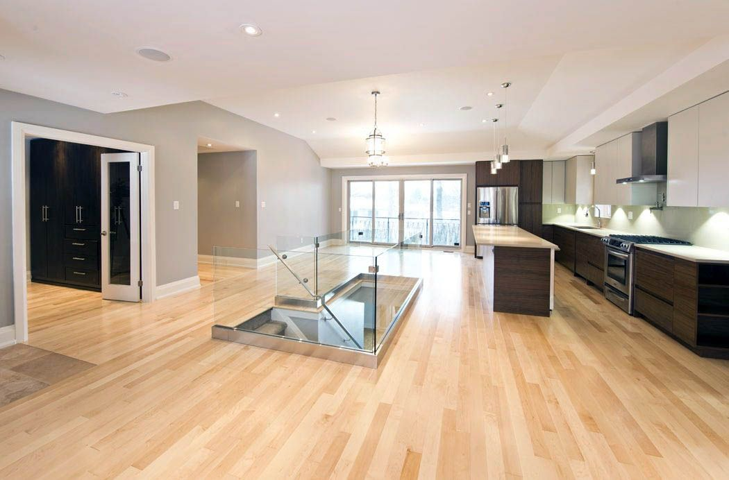 Perfect laminate wood flooring over concrete only in ...