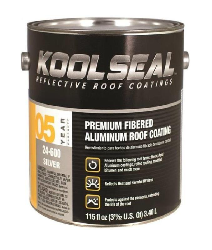 Kst Coating Ks0024600 16 Aluminum Roof Coating 1 Gallon Elastomeric Roof Coating Roof Coating Composition Roof