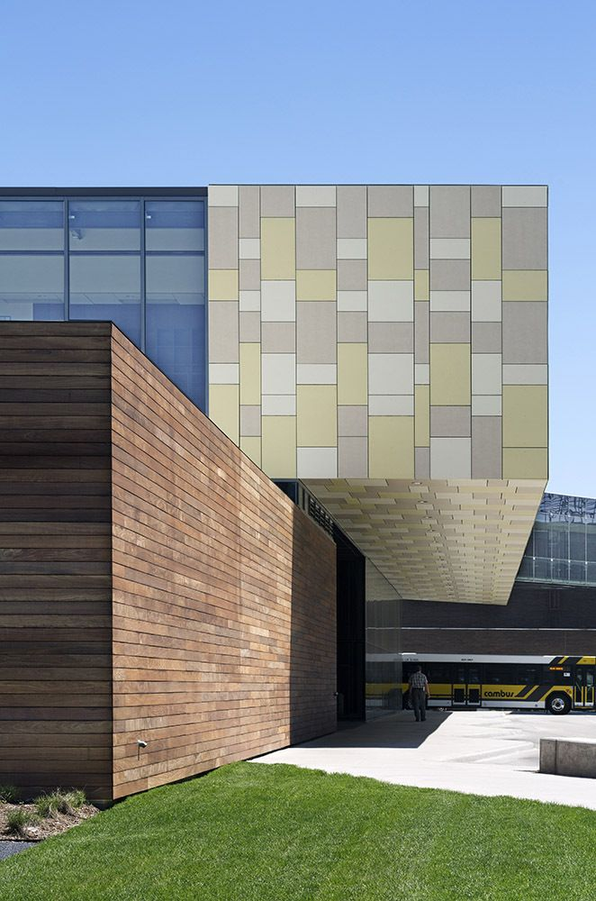 Gallery Of University Of Iowa West Campus Transportation Center / Neumann  Monson Architects   13