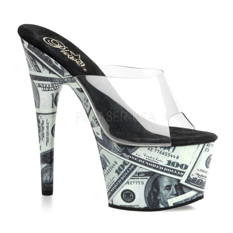 dabd2589b4 100+inch+high+heels   High heel mule, 7 inch spike heel, 2 1/2 inch platform,  plenty of .