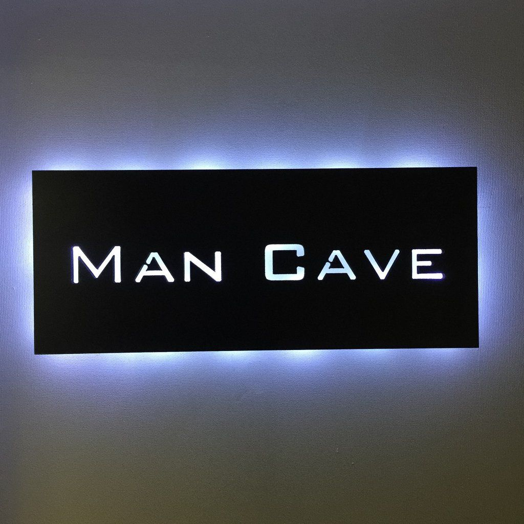 Man Cave Sign #mancavegarage