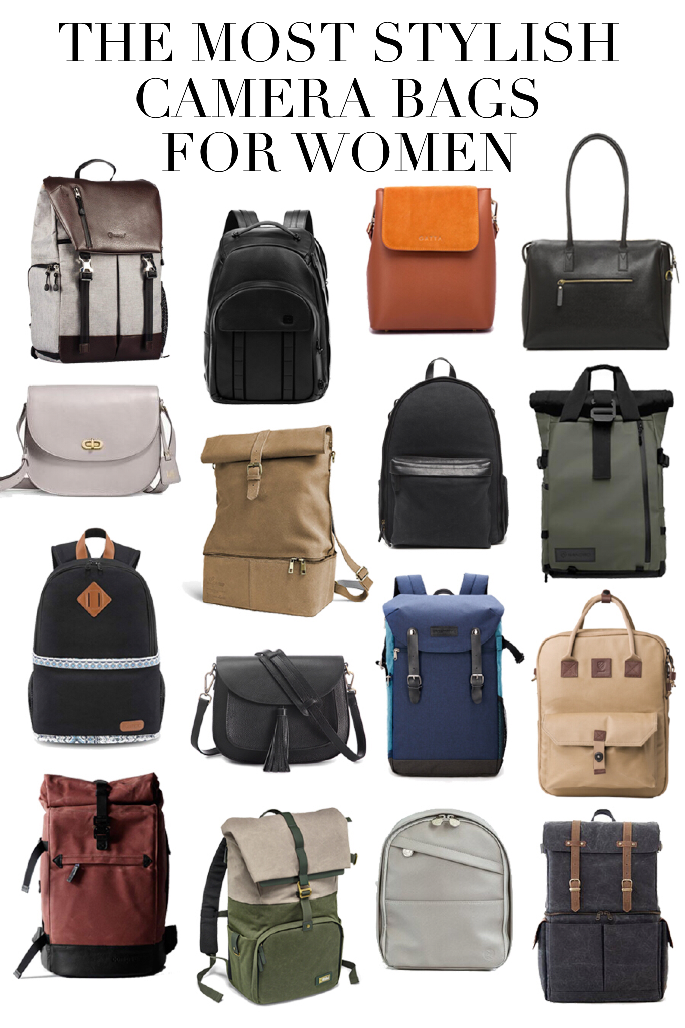 91cc56b5bae7 The 15 Best Stylish Camera Bags For Women Right Now | Travel Tips ...
