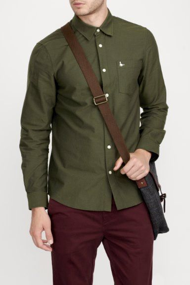 SALCOMBE CLASSIC FIT OXFORD SHIRT