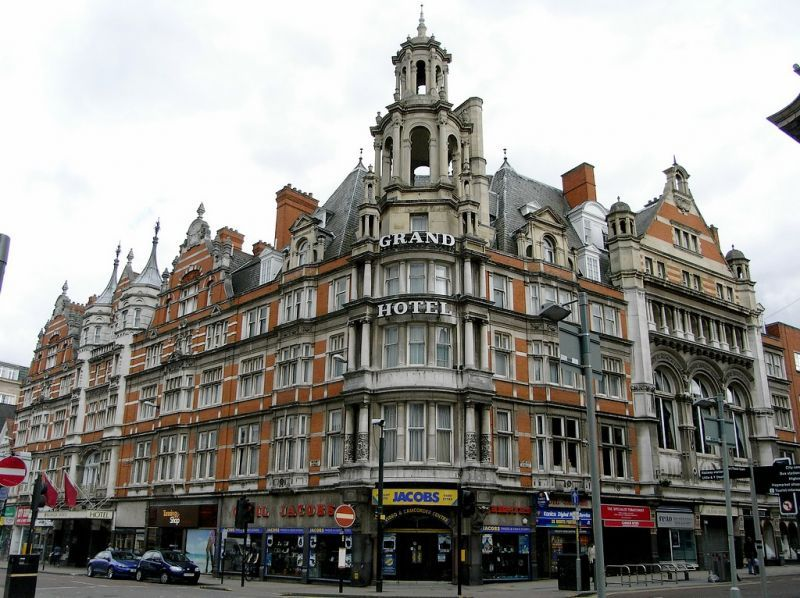 The Grand Hotel Is In City Centre Of Leicester England It Now Known As Mercure Built Between
