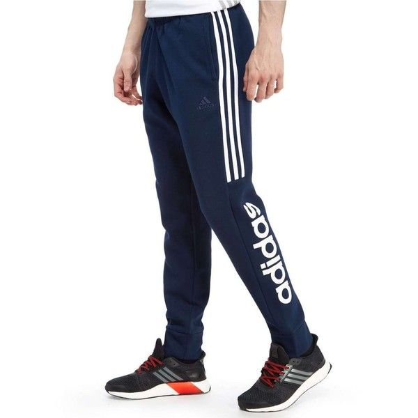 adidas Linear Fleece Jogging Pants ($58) ❤ liked on Polyvore featuring  men's fashion,. Men's Activewear PantsNavy PantsNike ...