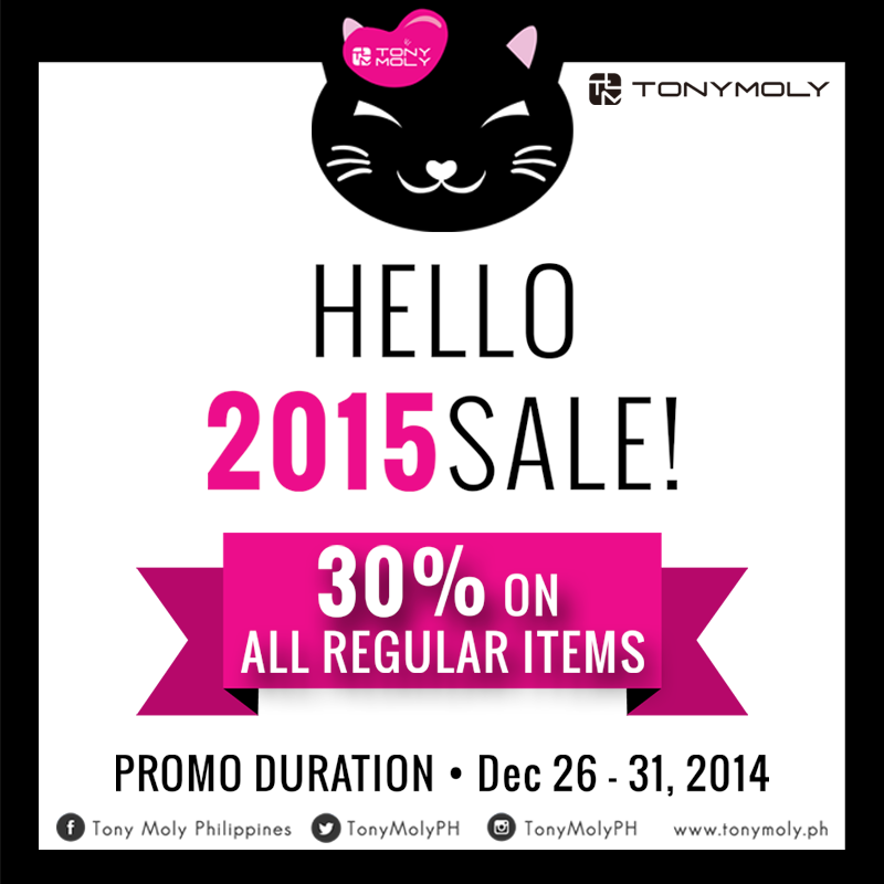 The Holidays Aren T Over Yet We Still Have Lots Of Things To Celebrate Including Tonymoly S Hello 2015 Sale Get 30 Off On All Regu Tony Moly Hello 2015 3 1